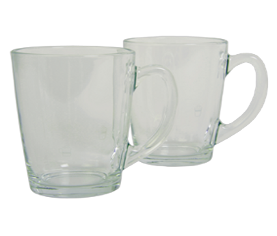 Set of 2 Cappuccino and Caffé Latte cups XS801000