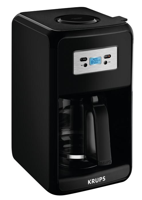 Krups Ec311 12 Cup Savoy Programmable Digital Black Coffee Maker Ec311050