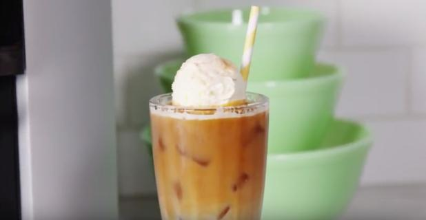 KRUPS Churro Iced Coffee Float