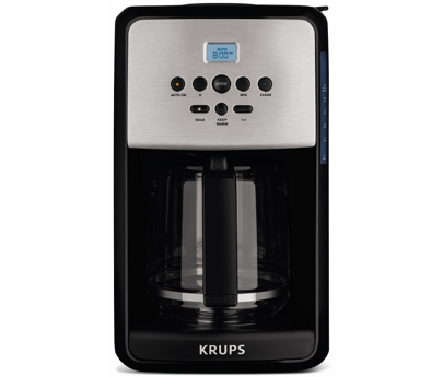 Krups 12 Cup Savoy Programmable Stainless Steel Thermal